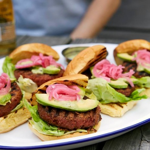 ​Beyond Burger with Mexican Goddess Chopt Dressing