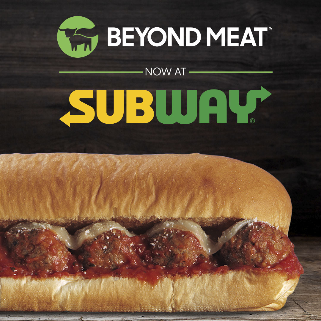 Subway And Beyond Meat Team Up To Create A Plant Based Sub Beyond Meat Go Beyond