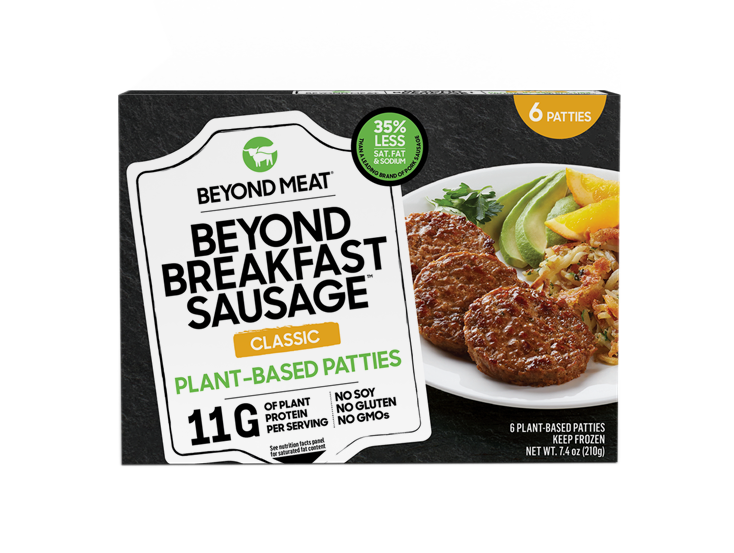 BEYOND BREAKFAST SAUSAGE<sup>®</sup> PATTIES, CLASSIC