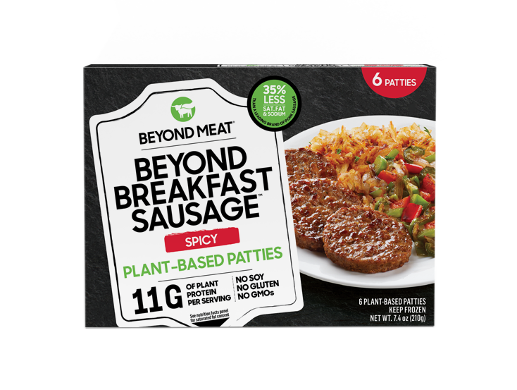 BEYOND BREAKFAST SAUSAGE<sup>®</sup> PATTIES, SPICY