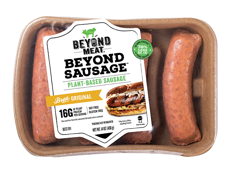 BEYOND SAUSAGE® Brat Original - Beyond Meat - Go Beyond®