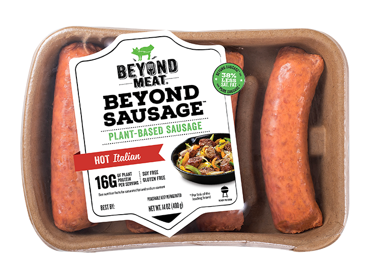 BEYOND SAUSAGE<sup>®</sup> Hot Italian