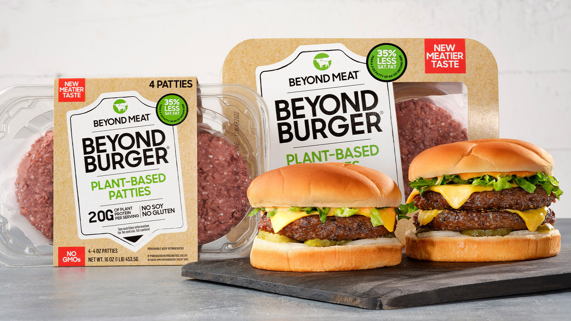Beyond Meat to Launch New Version of Its Meatless Burgers for Grocery Stores Next Week