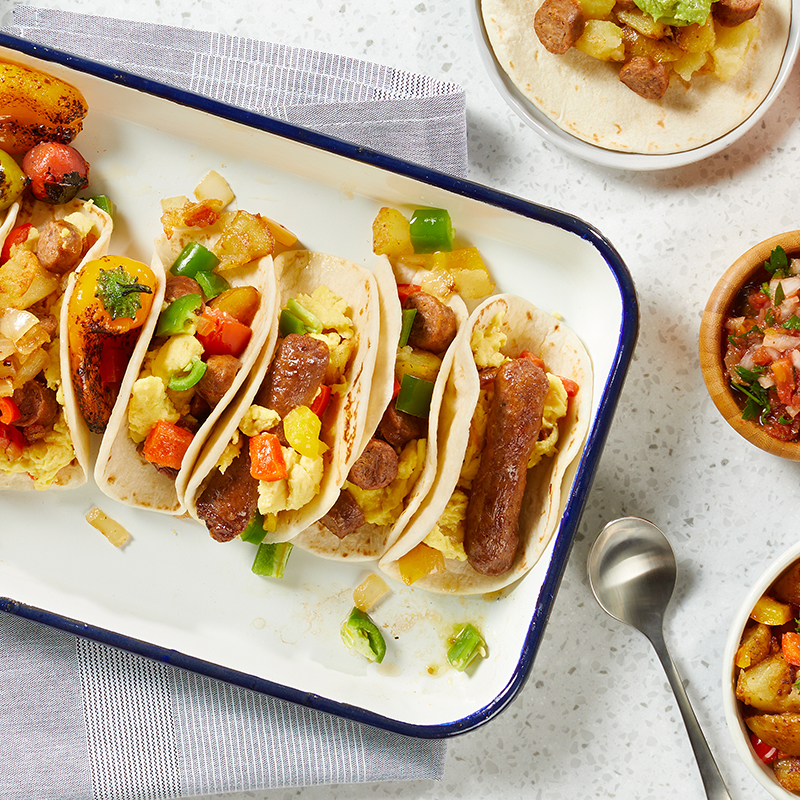 Beyond Breakfast Sausage® Tacos