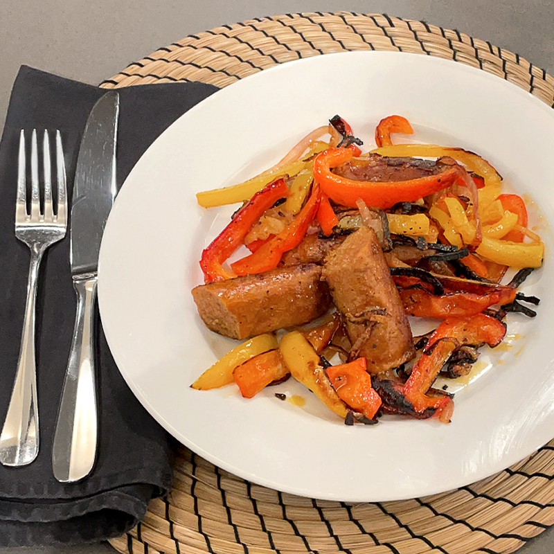 P.K. Subban's Sizzling Sausage & Peppers