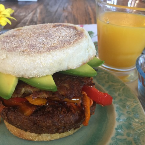 April's Breakfast Beyond Burger