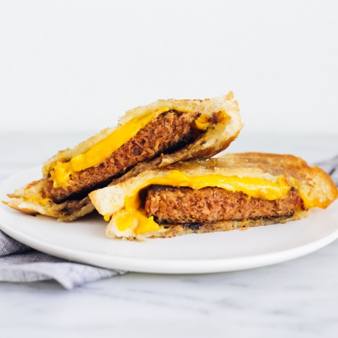 Beyond Burger Grilled Cheese