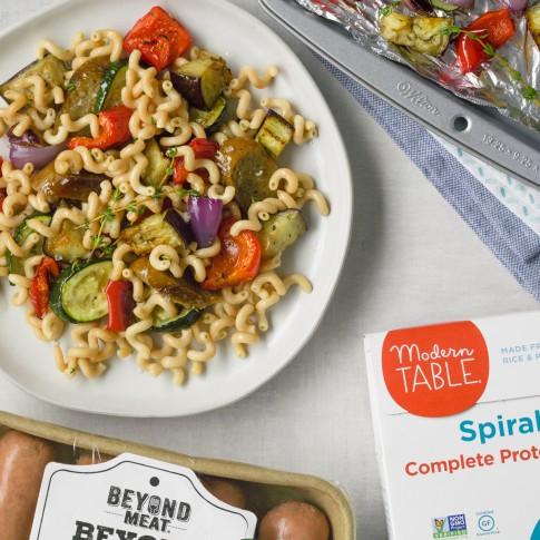 Protein-Packed Pasta w/ Beyond Sausage