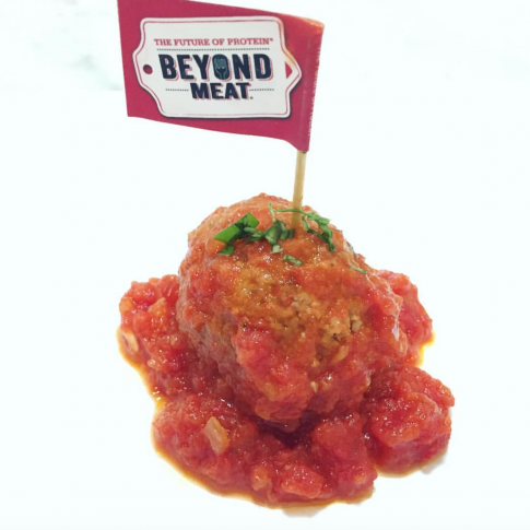Bobby Calabrese's Vegan Marinara Meatballs with Beyond Burger