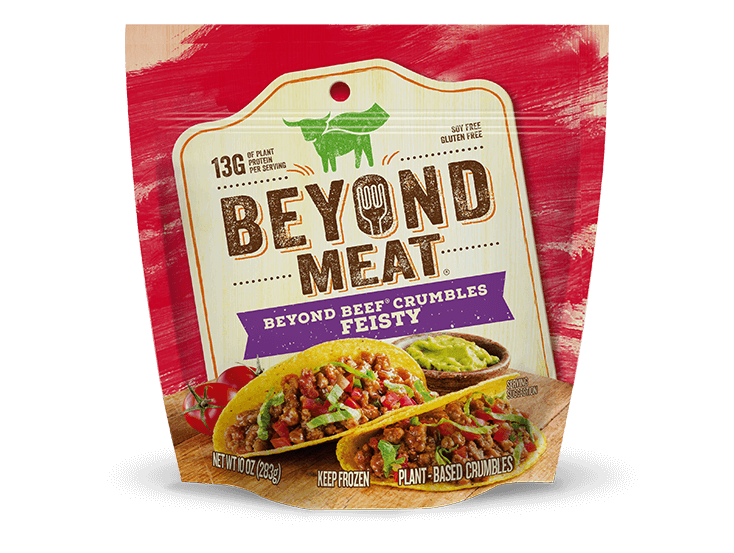 BEYOND BEEF<sup>®</sup> CRUMBLES FEISTY