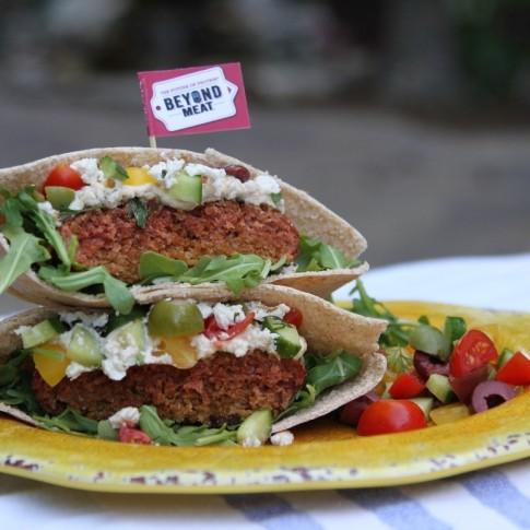 JJ Redick's Mediterranean Beyond Burger