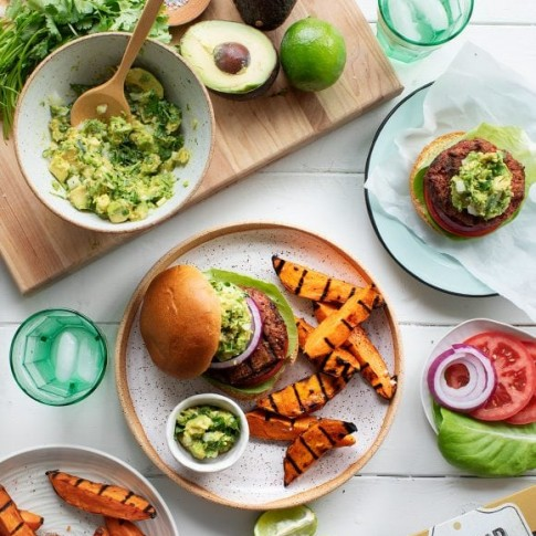 Love & Lemons Guacamole Beyond Burger