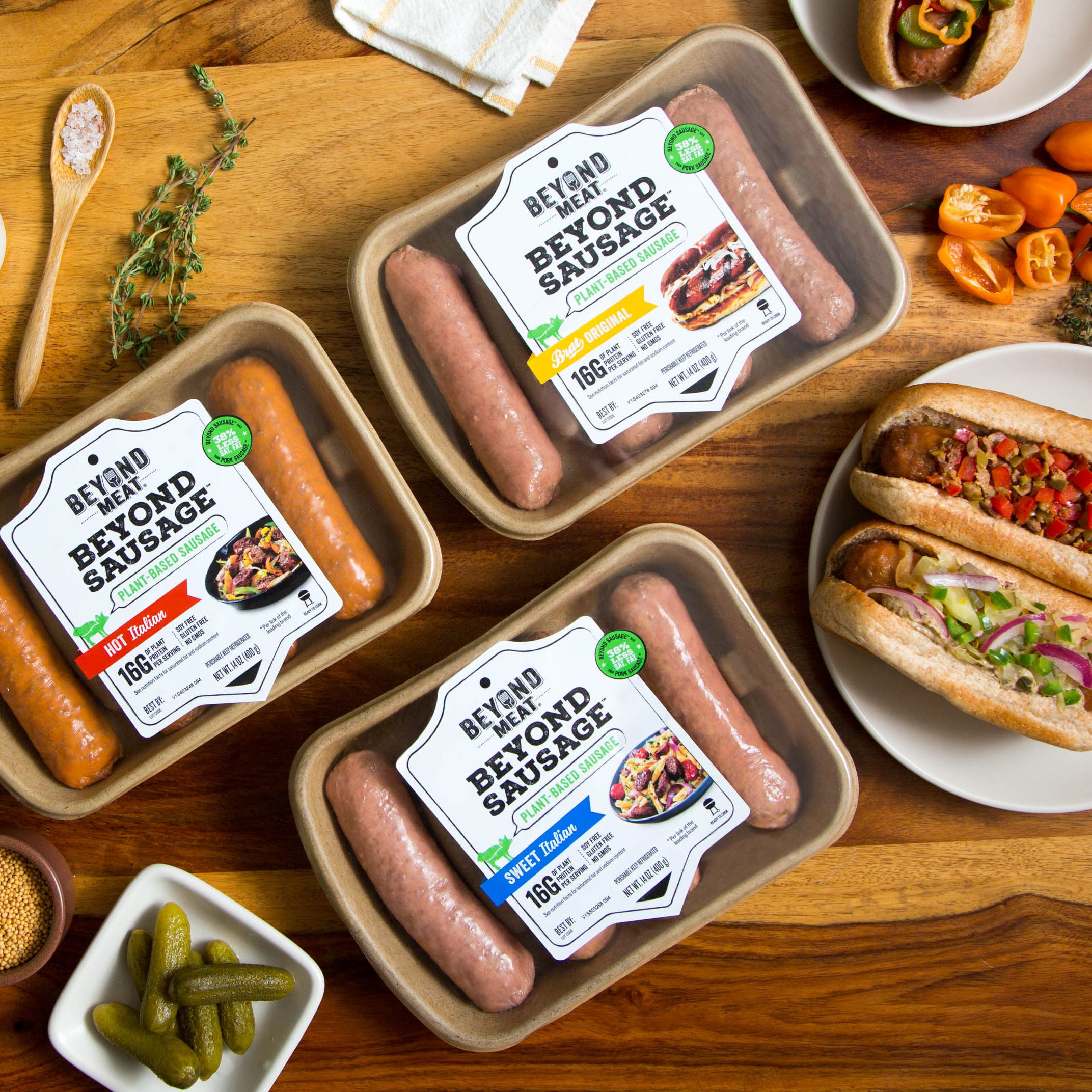 Beyond Sausage Now at Whole Foods Markets NATIONWIDE!
